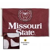 Missouri State Bears Nylon Embroidered Flag