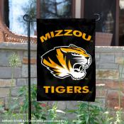 Missouri Tigers Black Garden Flag
