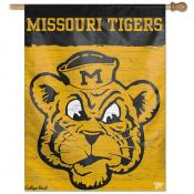 Missouri Tigers College Vault Logo House Flag
