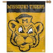 Missouri Tigers College Vault Logo House Flag