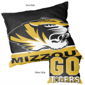 Missouri Tigers Double Sided Pillow