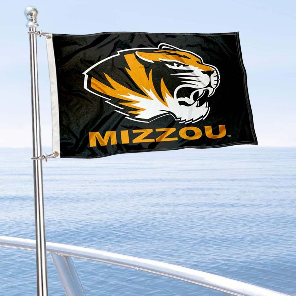 Missouri Tigers Golf Cart Flag is a small 12x18 inches, made of 2-ply polyester with quad stitched flyends, and is double-sided. Our Golf Cart Logo Flags are Officially Licensed and Approved by Mizzou and NCAA.