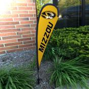 Missouri Tigers Small Feather Flag