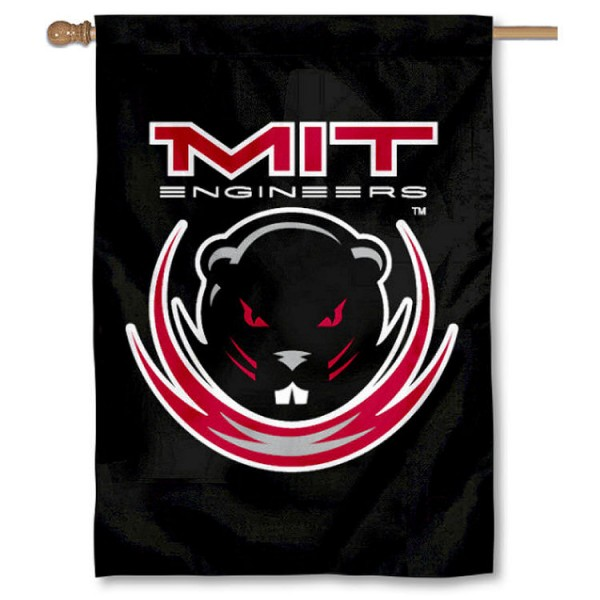 MIT Engineers Double Sided Banner is a vertical house flag which measures 28x40 inches, is made of 2 ply 100% nylon, offers screen printed NCAA team insignias, and has a top pole sleeve to hang vertically. Our MIT Engineers Double Sided Banner is officially licensed by the selected university and the NCAA.
