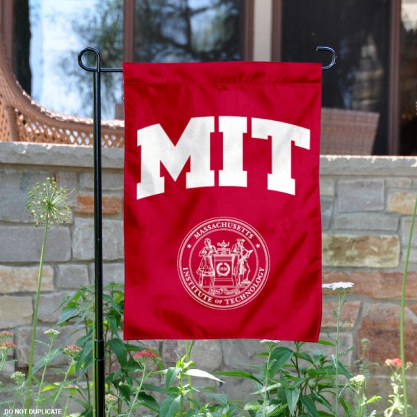 MIT Engineers Garden Flag is 13x18 inches in size, is made of 2-layer polyester, screen printed MIT Engineers athletic logos and lettering. Available with Same Day Express Shipping, Our MIT Engineers Garden Flag is officially licensed and approved by MIT Engineers and the NCAA.