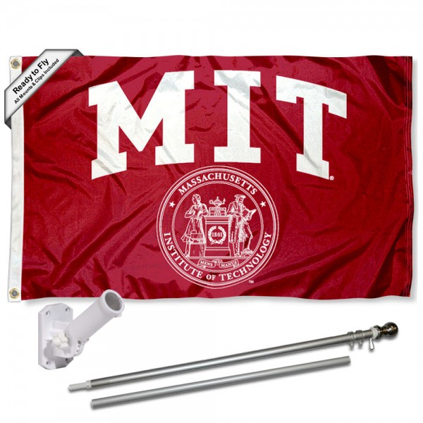 MIT Flag Pole and Bracket Kit