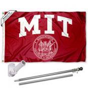 MIT Flag Pole and Bracket Kit