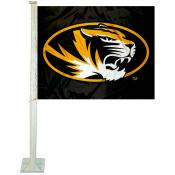 Mizzou Tigers Car Window Flag