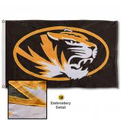Mizzou Tigers Nylon Embroidered Flag