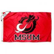 MN State Mavericks Large 4x6 Flag