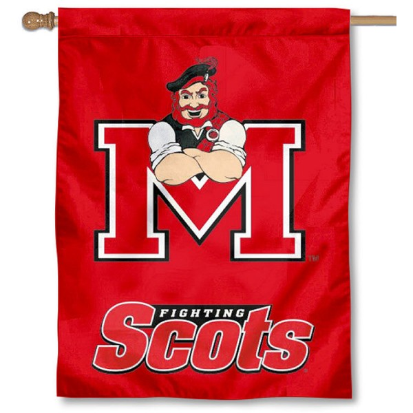 Monmouth College Banner Flag is a vertical house flag which measures 30x40 inches, is made of 2 ply 100% polyester, offers dye sublimated NCAA team insignias, and has a top pole sleeve to hang vertically. Our Monmouth College Banner Flag is officially licensed by the selected university and the NCAA.