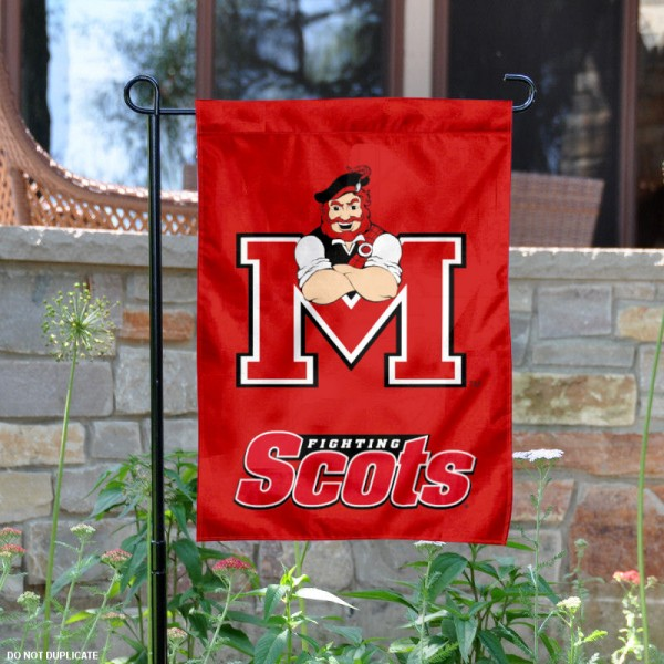 Monmouth College Garden Flag is 13x18 inches in size, is made of 2-layer polyester, screen printed Monmouth College athletic logos and lettering. Available with Same Day Express Shipping, Our Monmouth College Garden Flag is officially licensed and approved by Monmouth College and the NCAA.
