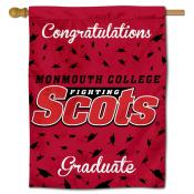 Monmouth Fighting Scots Congratulations Graduate Flag