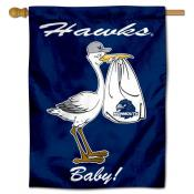 Monmouth Hawks New Baby Flag
