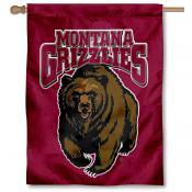 Montana Griz House Flag