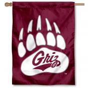 Montana Griz Logo House Flag