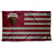 Montana Griz Stripes Flag