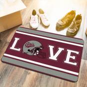 Montana Grizzlies LOVE Garage Man Cave Utility Doormat