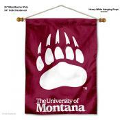 Montana Grizzlies Wall Banner