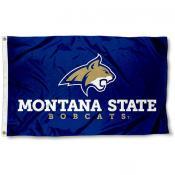 Montana State MSU Bobcats Flag