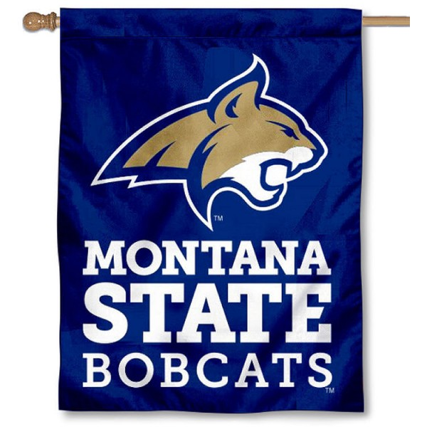 Montana State University Banner Flag is a vertical house flag which measures 30x40 inches, is made of 2 ply 100% polyester, offers dye sublimated NCAA team insignias, and has a top pole sleeve to hang vertically. Our Montana State University Banner Flag is officially licensed by the selected university and the NCAA.