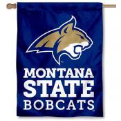Montana State University Banner Flag