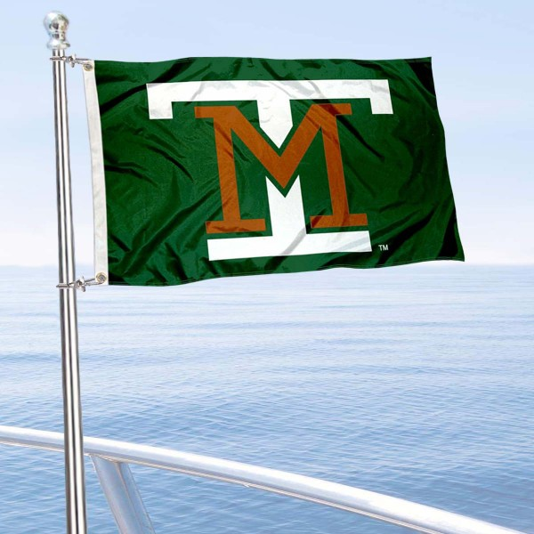 Montana Tech Diggers Boat and Mini Flag is 12x18 inches, polyester, offers quadruple stitched flyends for durability, has two metal grommets, and is double sided. Our mini flags for Montona Tech of the University of Montana are licensed by the university and NCAA and can be used as a boat flag, motorcycle flag, golf cart flag, or ATV flag.