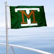 Montana Tech Diggers Boat and Mini Flag