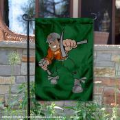 Montana Tech Diggers Charlie Oredigger Garden Flag