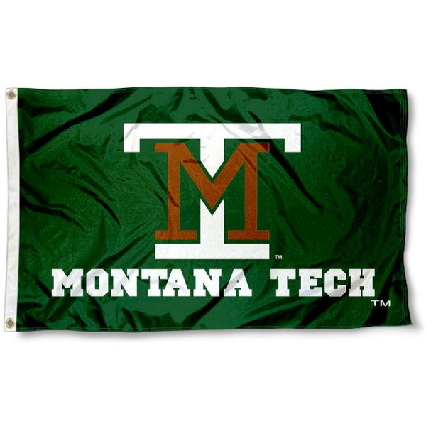 Montana Tech of the U of MT Flag measures 3'x5', is made of 100% poly, has quadruple stitched sewing, two metal grommets, and has double sided Team University logos. Our Diggers 3x5 Flag is officially licensed by the selected university and the NCAA.