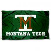 Montana Tech of the U of MT Flag