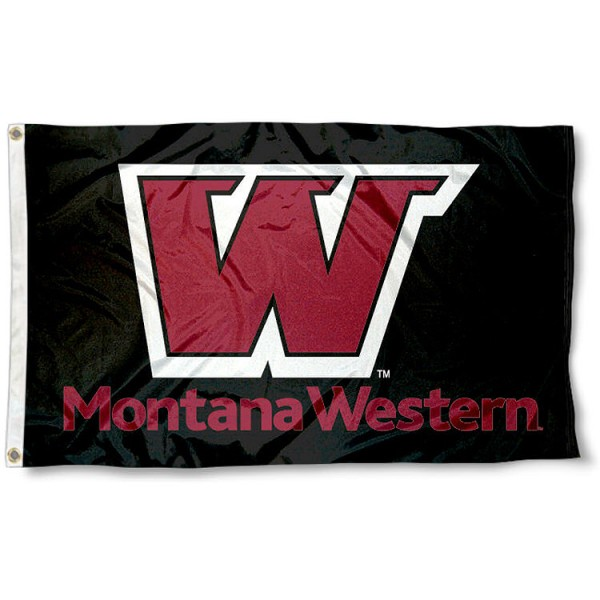 Montana Western Bulldogs 3x5 Flag measures 3'x5', is made of 100% poly, has quadruple stitched sewing, two metal grommets, and has double sided Team University logos. Our Montana Western Bulldogs 3x5 Flag is officially licensed by the selected university and the NCAA.