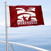 Morehouse Maroon Tigers Boat and Mini Flag