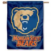 Morgan State MSU Bears House Flag