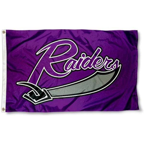 Mount Union Raiders Flag measures 3x5 feet, is made of 100% polyester, offers quadruple stitched flyends, has two metal grommets, and offers screen printed NCAA team logos and insignias. Our Mount Union Raiders Flag is officially licensed by the selected university and NCAA.