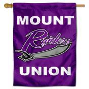 Mount Union Raiders Logo Double Sided House Flag