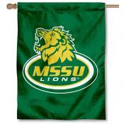 MSSU Lions Banner Flag