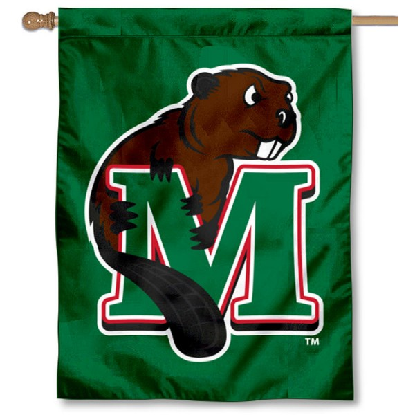MSU Beavers Double Sided House Flag is a vertical house flag which measures 30x40 inches, is made of 2 ply 100% polyester, offers screen printed NCAA team insignias, and has a top pole sleeve to hang vertically. Our MSU Beavers Double Sided House Flag is officially licensed by the selected university and the NCAA.