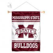 MSU Bulldogs Window and Wall Banner
