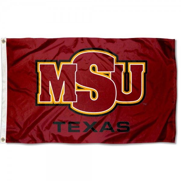 MSU Mustangs Flag measures 3x5 feet, is made of 100% polyester, offers quadruple stitched flyends, has two metal grommets, and offers screen printed NCAA team logos and insignias. Our MSU Mustangs Flag is officially licensed by the selected university and NCAA.