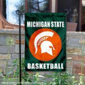 MSU Spartans Basketball Garden Banner