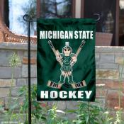 MSU Spartans Hockey Yard Flag