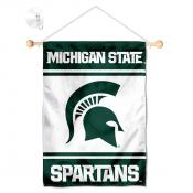 MSU Spartans Window and Wall Banner