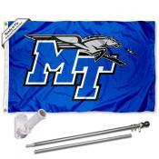 MTSU Blue Raiders Flag Pole and Bracket Kit