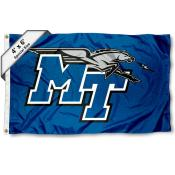MTSU Blue Raiders Large 4x6 Flag