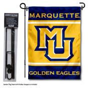 MU Golden Eagles Garden Flag and Pole Stand Holder