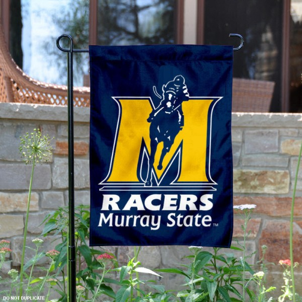 Murray State Garden Flag is 13x18 inches in size, is made of 2-layer polyester, screen printed Murray State athletic logos and lettering. Available with Same Day Express Shipping, Our Murray State Garden Flag is officially licensed and approved by Murray State and the NCAA.