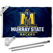 Murray State Racers Flag Pole and Bracket Kit