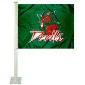 MVSU Delta Devils Logo Car Flag
