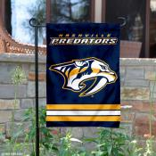 Nashville Predators Garden Flag